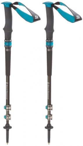 anti-shock and retractable hiking poles