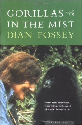 Dian Fossey's wildlife book tells the well known. story of her time with mountain gorillas