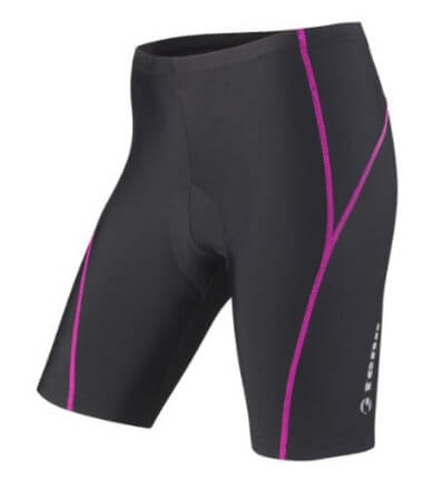 Danube cycling tour packing list padded cycling shorts