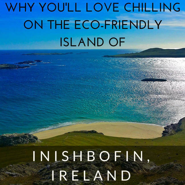 eco-friendly island of Inishbofin, Ireland