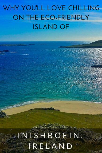 eco-friendly island of Inishbofin, Ireland
