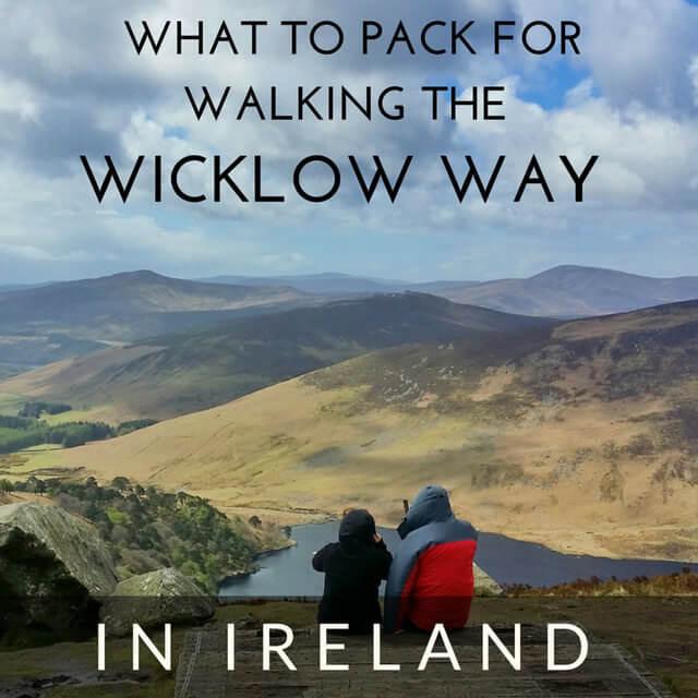 wicklow way walk packing list