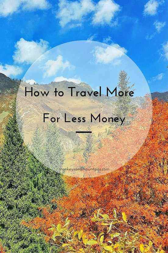 You'd love to travel more, but you don't have enough money! Here are my top 10  tips on how to travel more on a budget while having an amazing vacation.