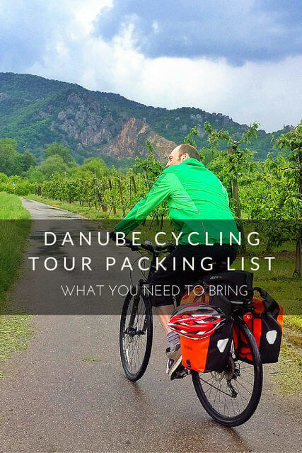 Danube Cycling Tour Packing List: What You Need to Bring ...
