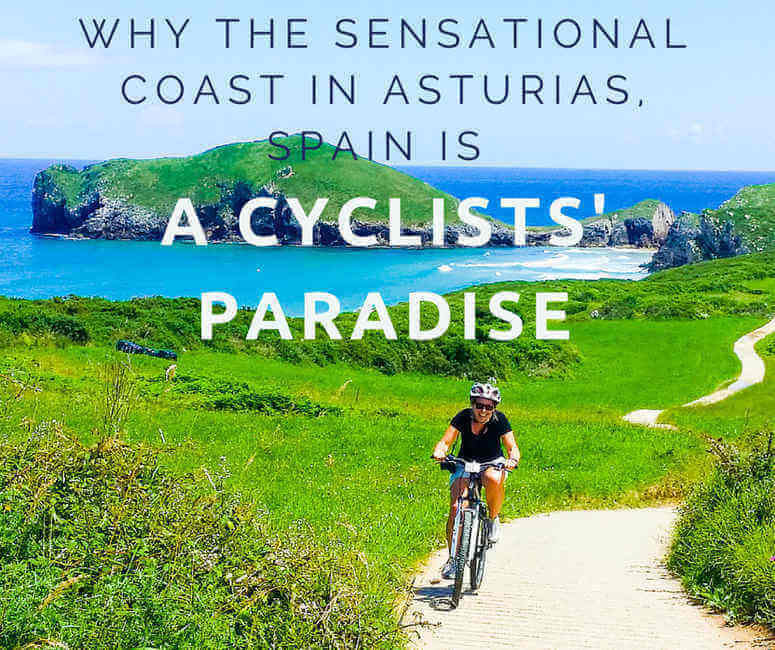 Coast in Asturias, Spain is a Cyclists' Paradise