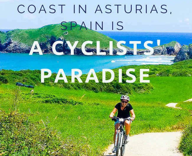 coast in asturias spain a cyclists paradise