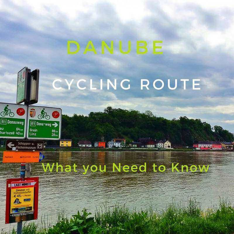 danube cycling route