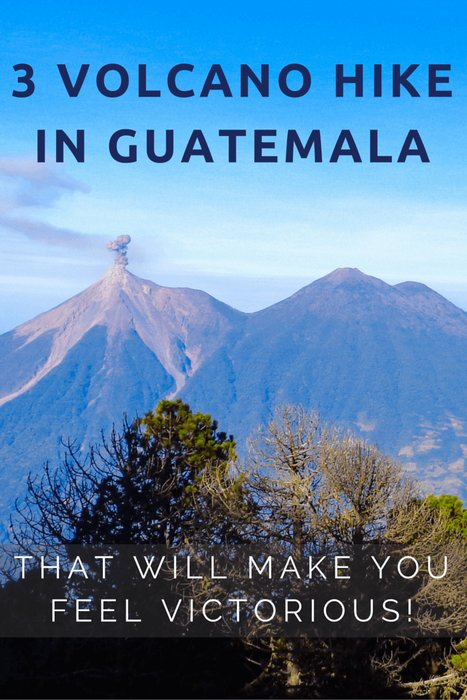 Extreme 3 Volcano hike in Guatemala