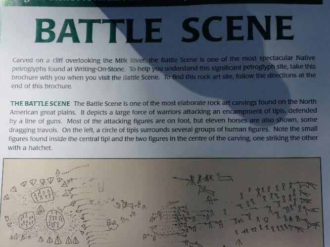 Battle Scene at Writing-OnStone