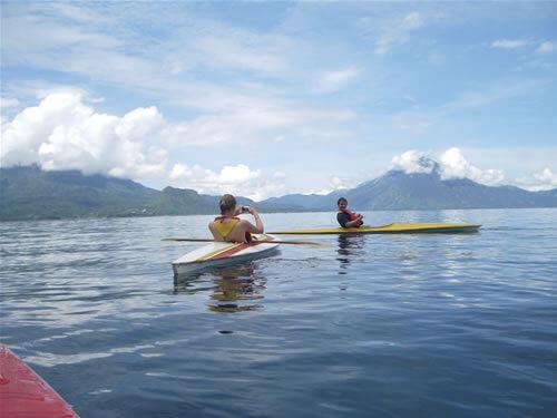Atitlan_kayaking , adventures in Guatemala