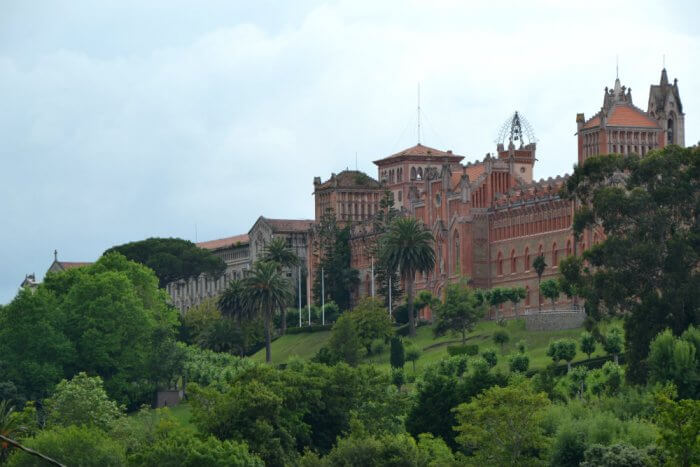 Pontifical University in Comillas. Photo by Duncan Rhodes.
