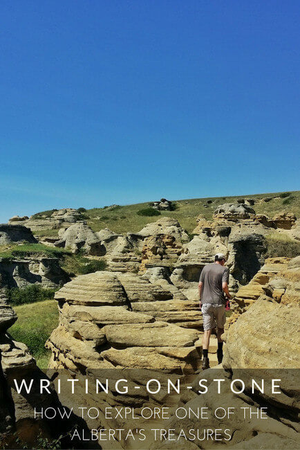 Writing-On-Stone Provincial Park in Alberta
