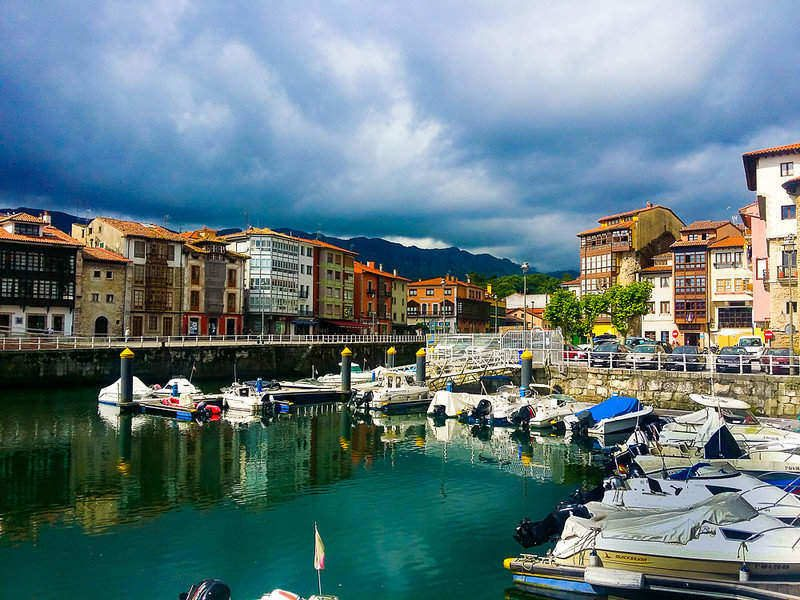 Llanes is a medieval fishing town.