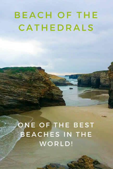 The Beach of of the Cathedrals (Catedrais Beach) is not only one of the best beaches in Spain, but in the world! No wonder that it's a national monument.