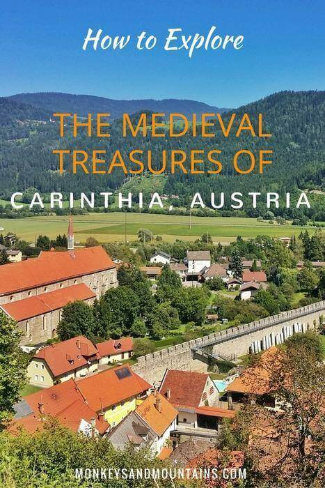 Carinthia is famous for its alpine mountains and lakes, like the Wörthersee, but it's also home to medieval treasures that many travelers miss!