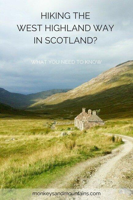 West Highland Way adventure
