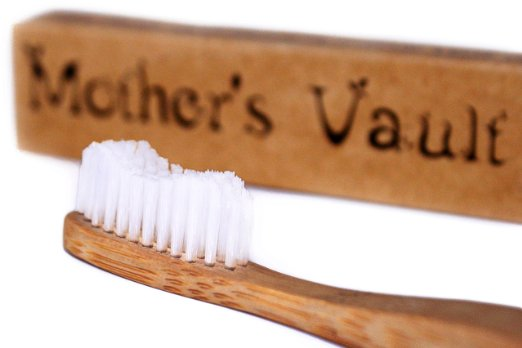 Biodegradable Bamboo Toothbrush makes for a great eco friendly stocking stuffer