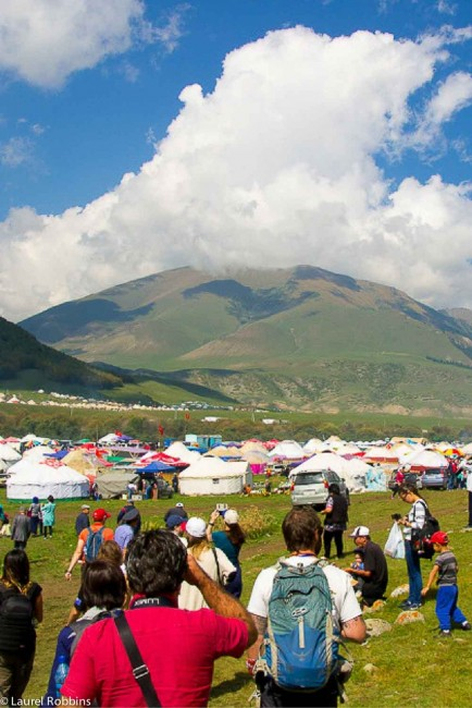 200 yurts at Kyrchyn for the World Nomad Games
