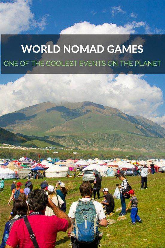 You'll find 200 yurts at the ethno-village at the World Nomad Games in Kyrgyzstan.