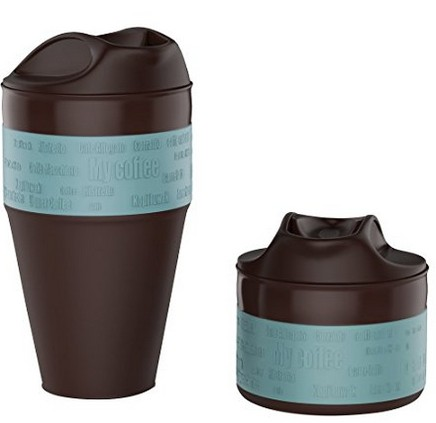 this reusable coffee mug collapses when not in use making it a great eco-friendly gift both when at home and when travelling