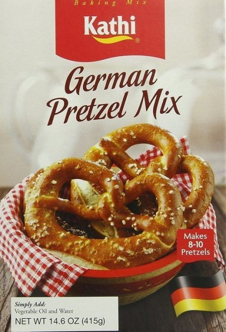 German Pretzel Baking Mix