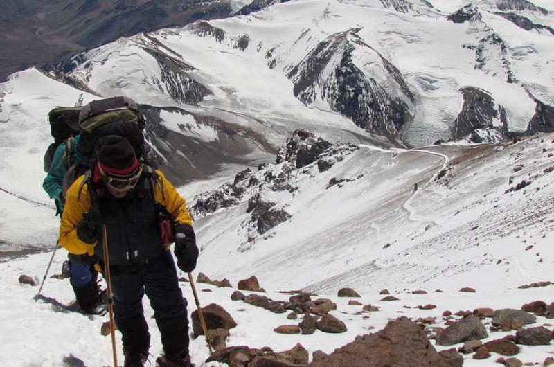 mountaineering adventure in Aconcagua Argentina