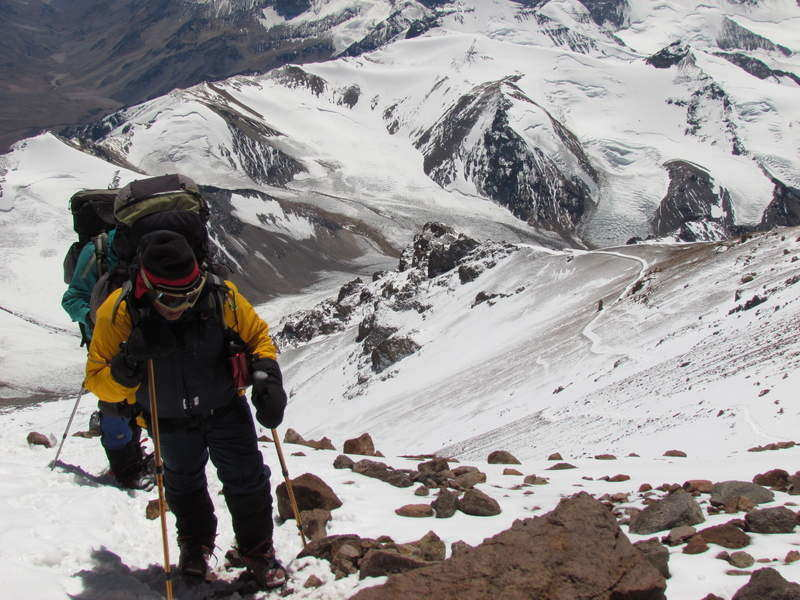 mountaineering adventure in Aconcagua Argentina