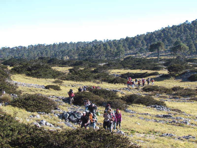 trekking in cuchumatanes mountain range guatemala