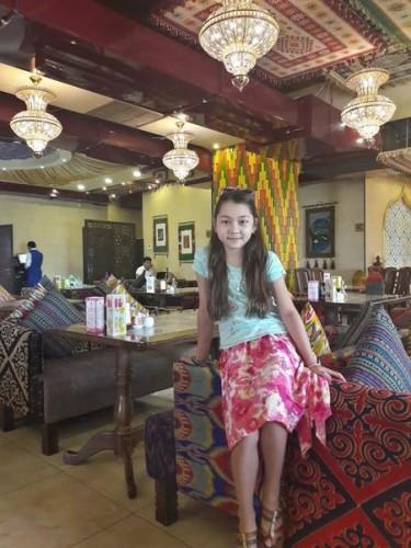 Gerda is a 10-year old Kyrgz-Canadian