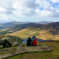 The Wicklow Way is a great long distance hike in Ireland.