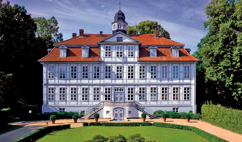 stay in a castle hotel in germany