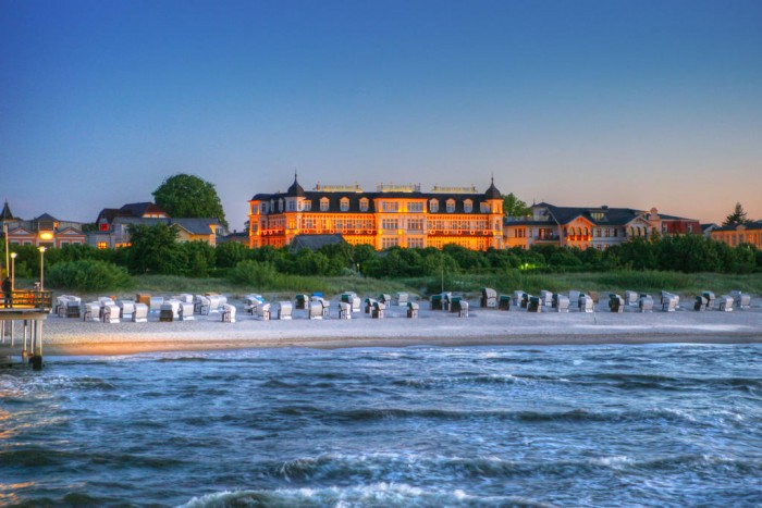 Seehotel Ahlbeck on the island of Usedom, Germany