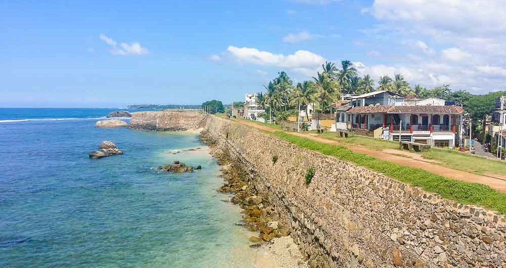 Old Town of Galle is a UNESCO World Heritage Site in Sri Lanka