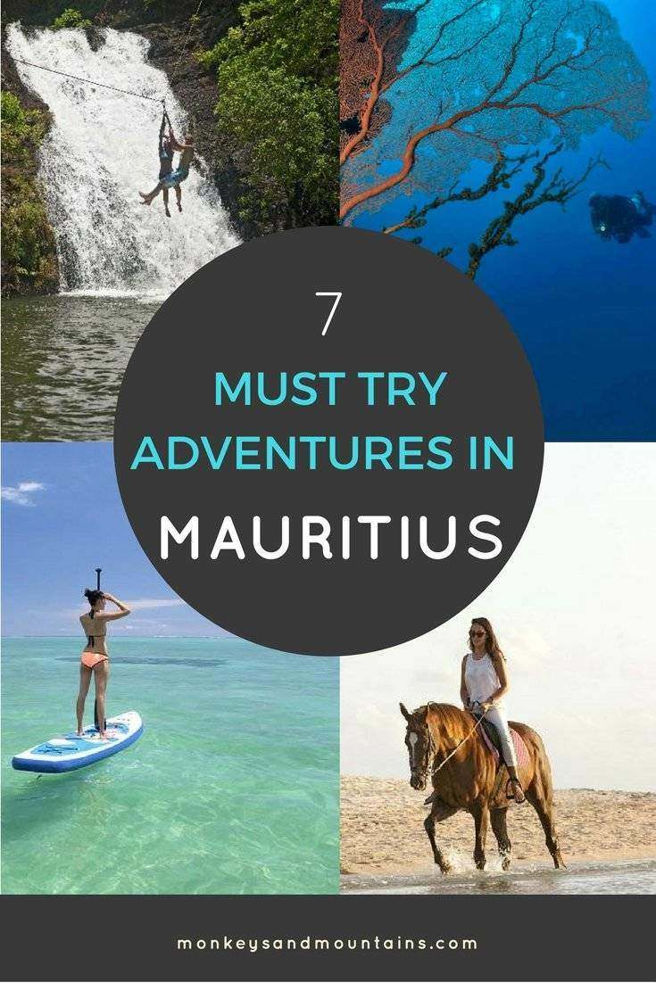 7 must try adventures for outdoor and nature lovers in Mauriitus