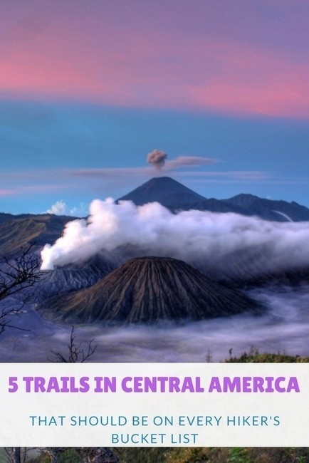 hiking trails in Central America