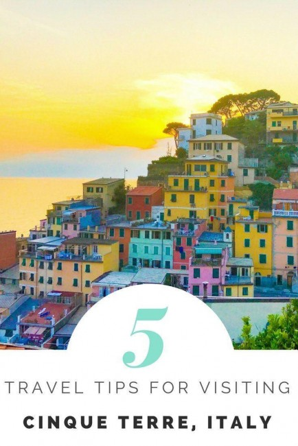 travel tips for Cinque Terre