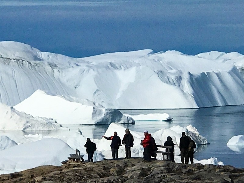 glaciers, ice bergs and ice floes abound when you travel to the Arctic