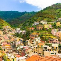Cinque Terre Travel Tip: Expect lots of hills so pack lightly
