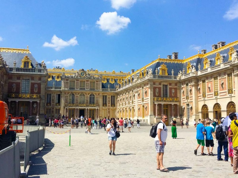 Plan to spend most of the day at the Palace of Versailles