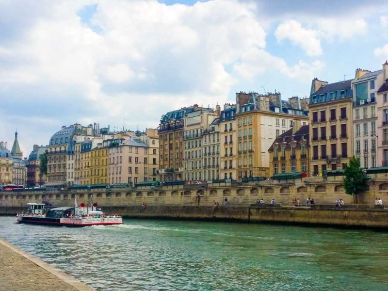 go for a boat ride on the Seine while in Paris