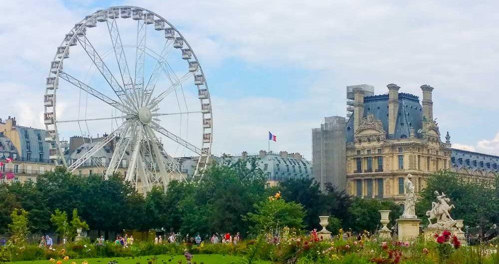 Enjoy some of Paris' beautiful parks during your visit.