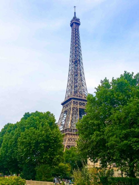 Eiffel Tower is a top tourist attraction in Paris