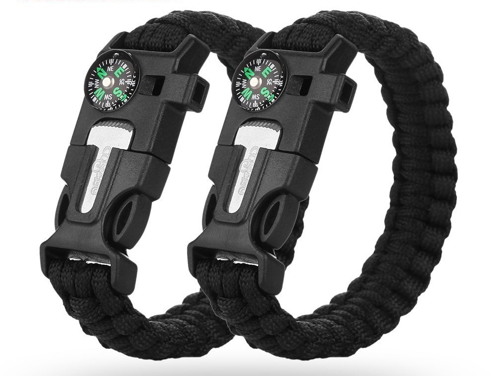 Tactical Survival Bracelet is the perfect gift for hikers