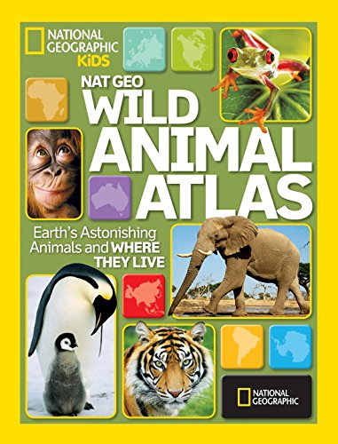 Wild Animal Atlas is a great gift for kids who live animals