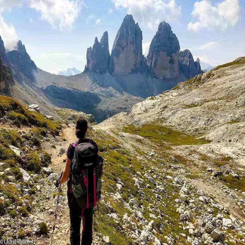 trekking in the Italian Dolomites self-guided tour