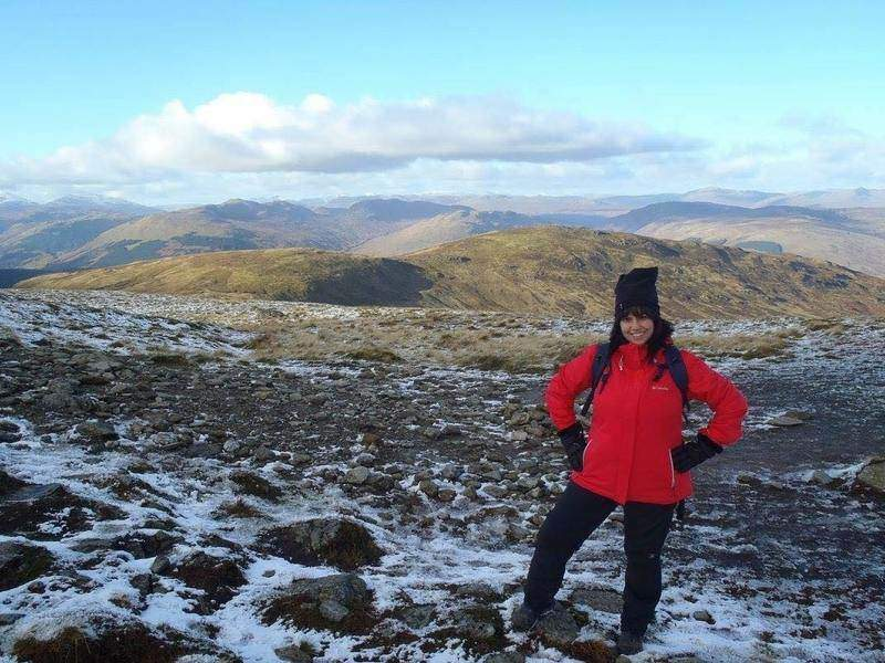 Heather Dunnell advice on how to train for a hiking trip