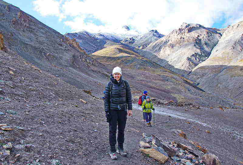 Leigh McAdam gives her advice on how train for a hiking trip
