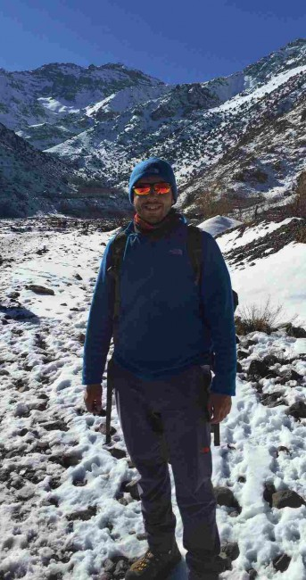 Mohamed Moshref advices on selecting the right group for your long distance hike.
