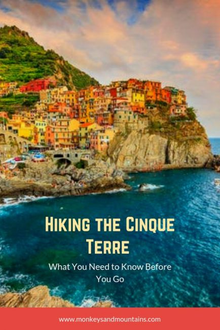 Cinque Terre Hiking: What You Need to Know
