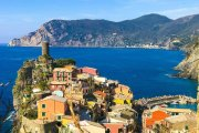hiking the Cinque Terre in Italy you'll hike into villages like this one